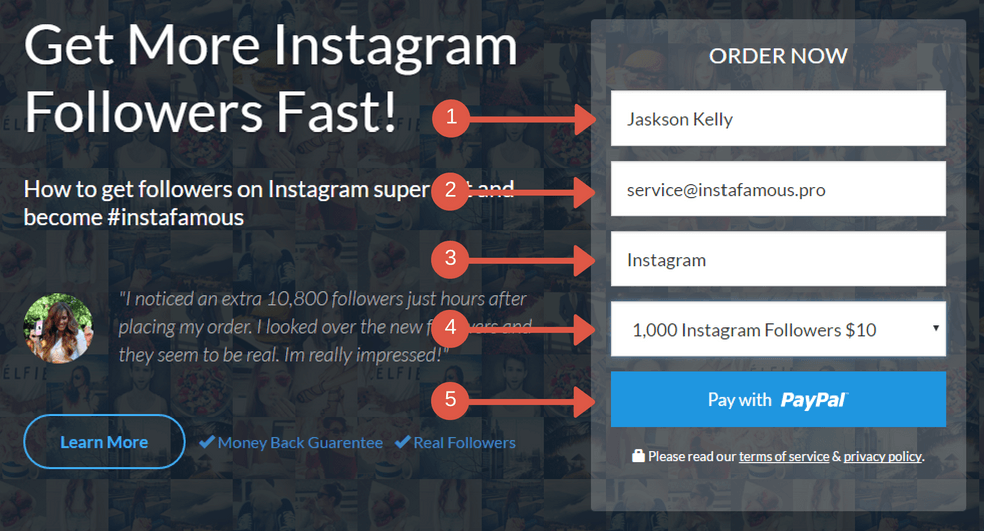 how-to-order-on-instafamous-pro-using-a-credit-card