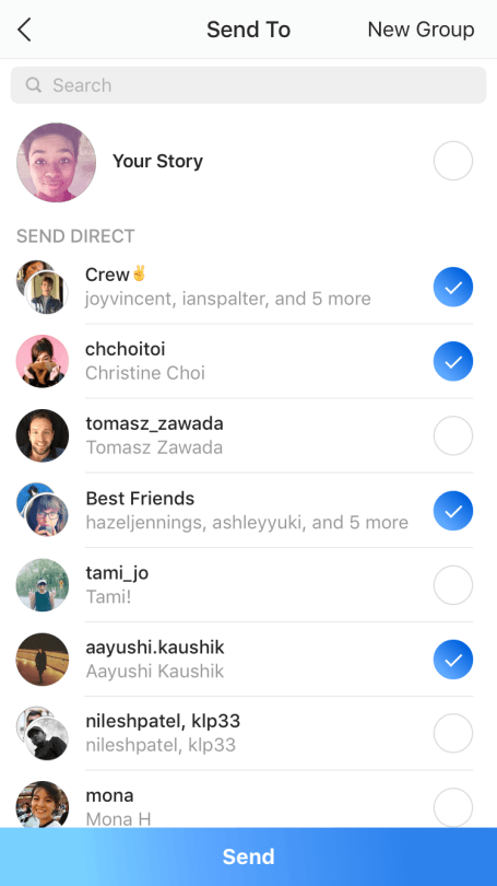 Instagram Disappearing Photos