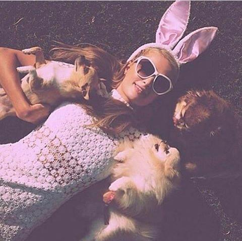 Celebrities Instagram Easter