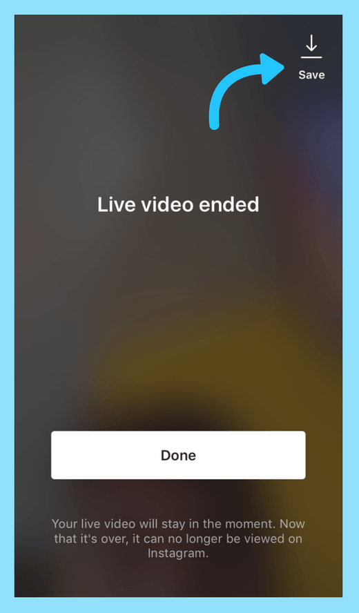 Use Instagram Live