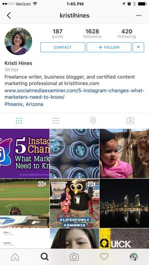 The Importance of a good Instagram Profile