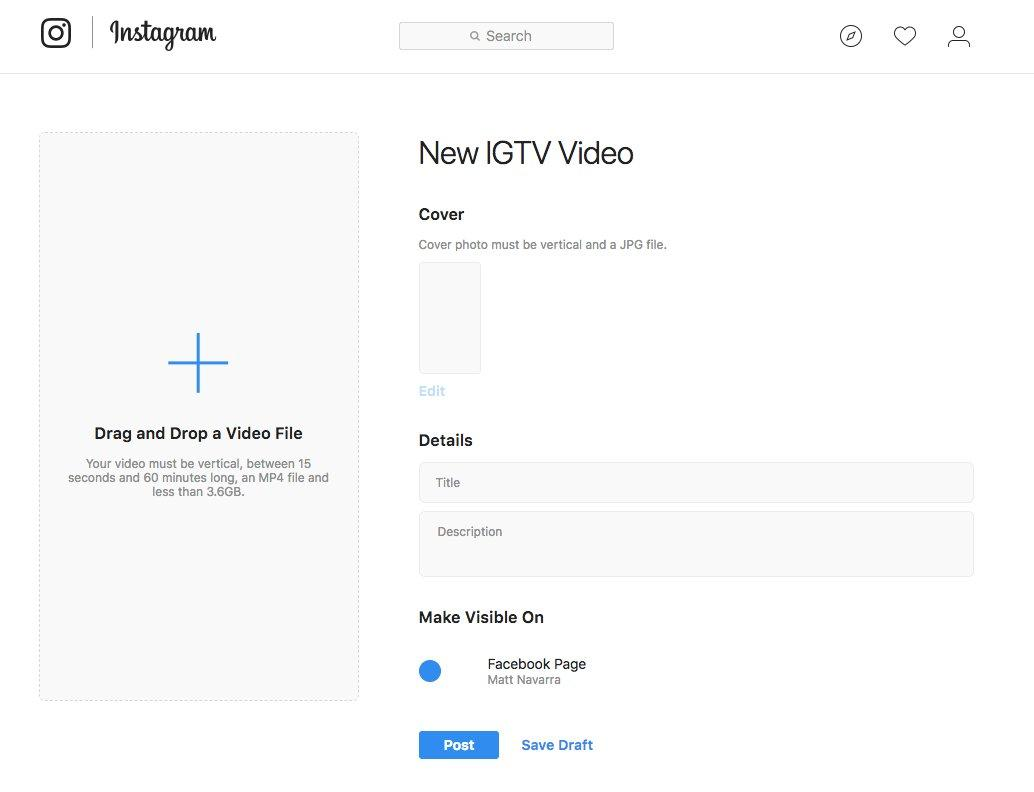 instagram tv description optimization
