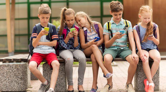 Children use social media