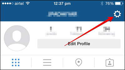 How to share Instagram content to facebook