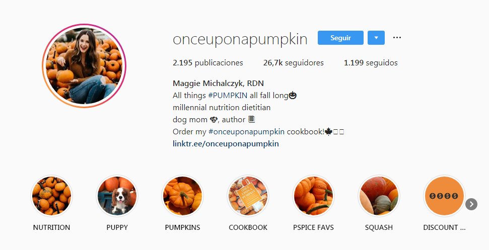 Weird Pumpkin Instagram account