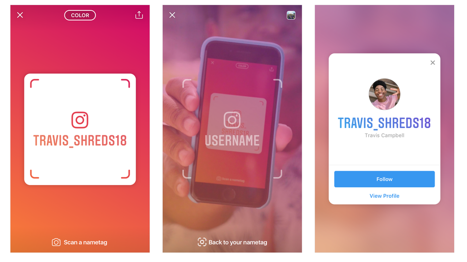 Instagram similarities to Snapchat features