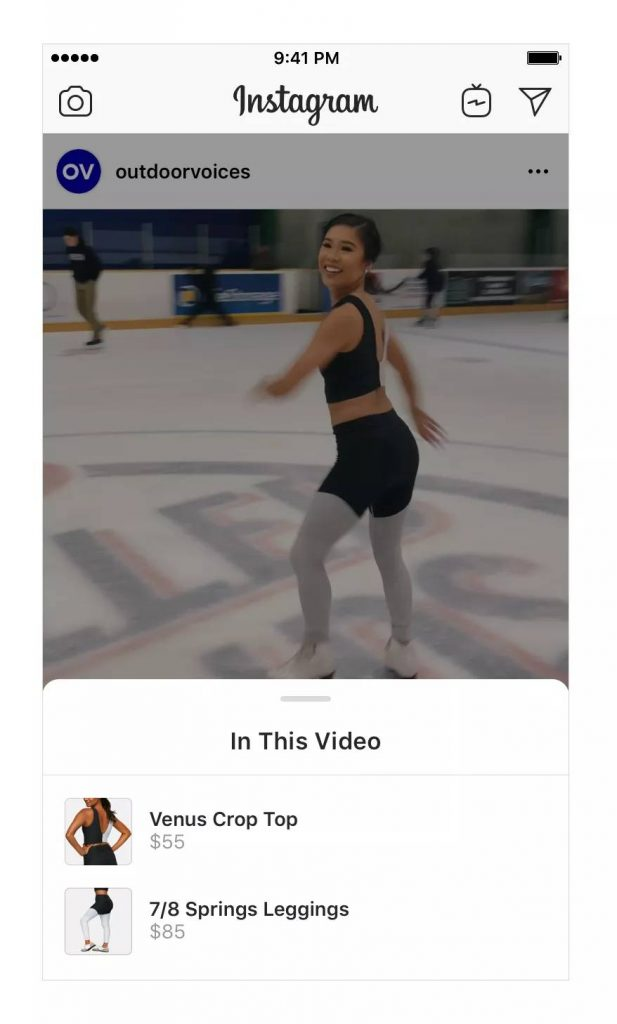 Instagram now lets you shop from videos