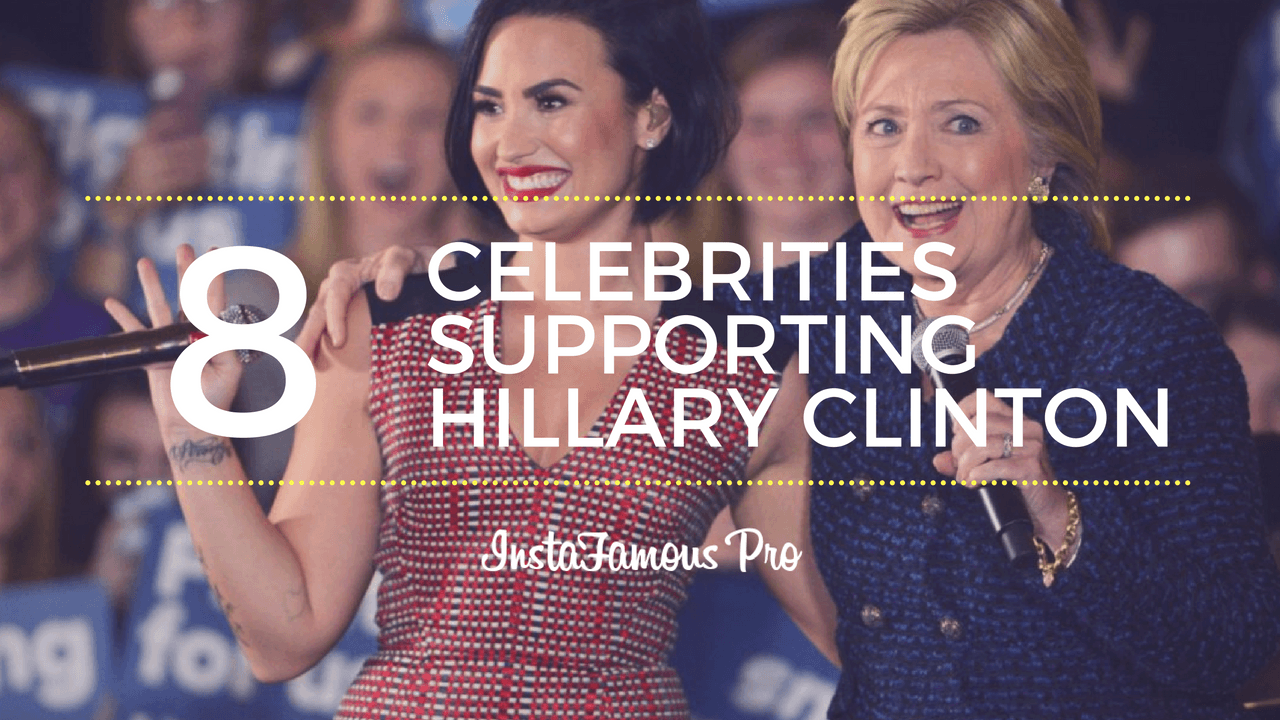 Demi Lovato and Hillary Clinton