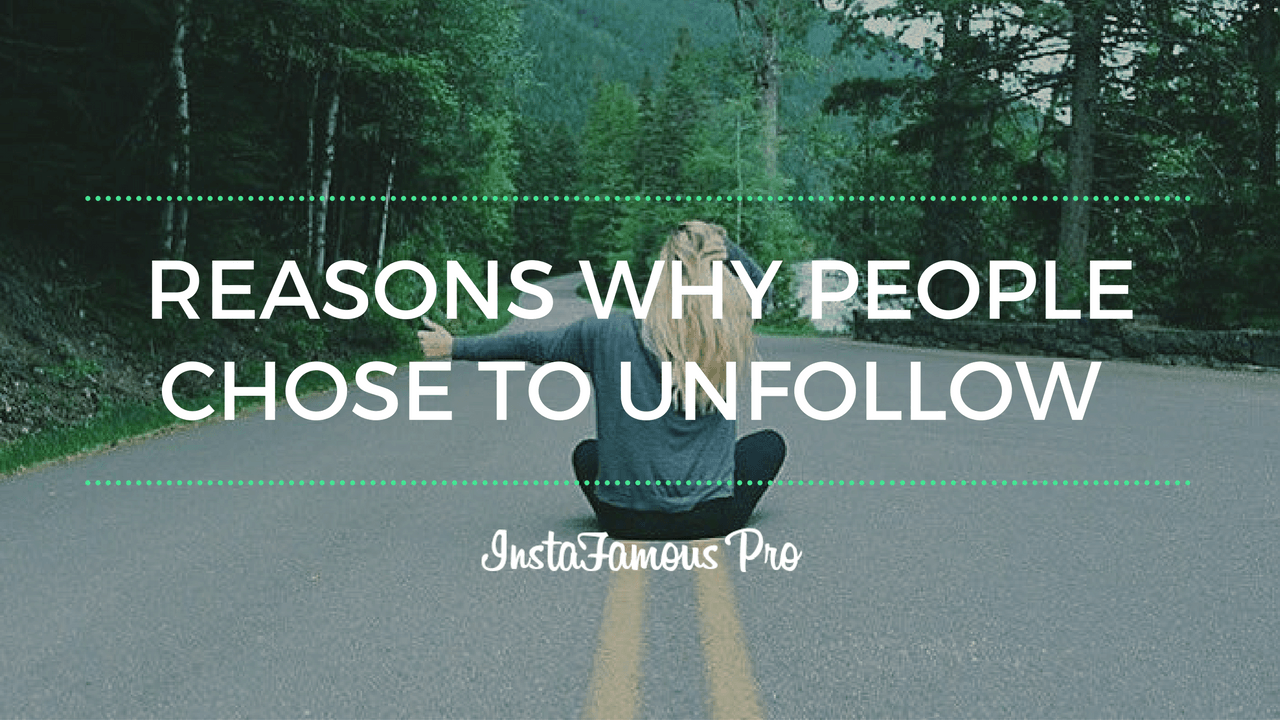 Why you may lose Instagram followers