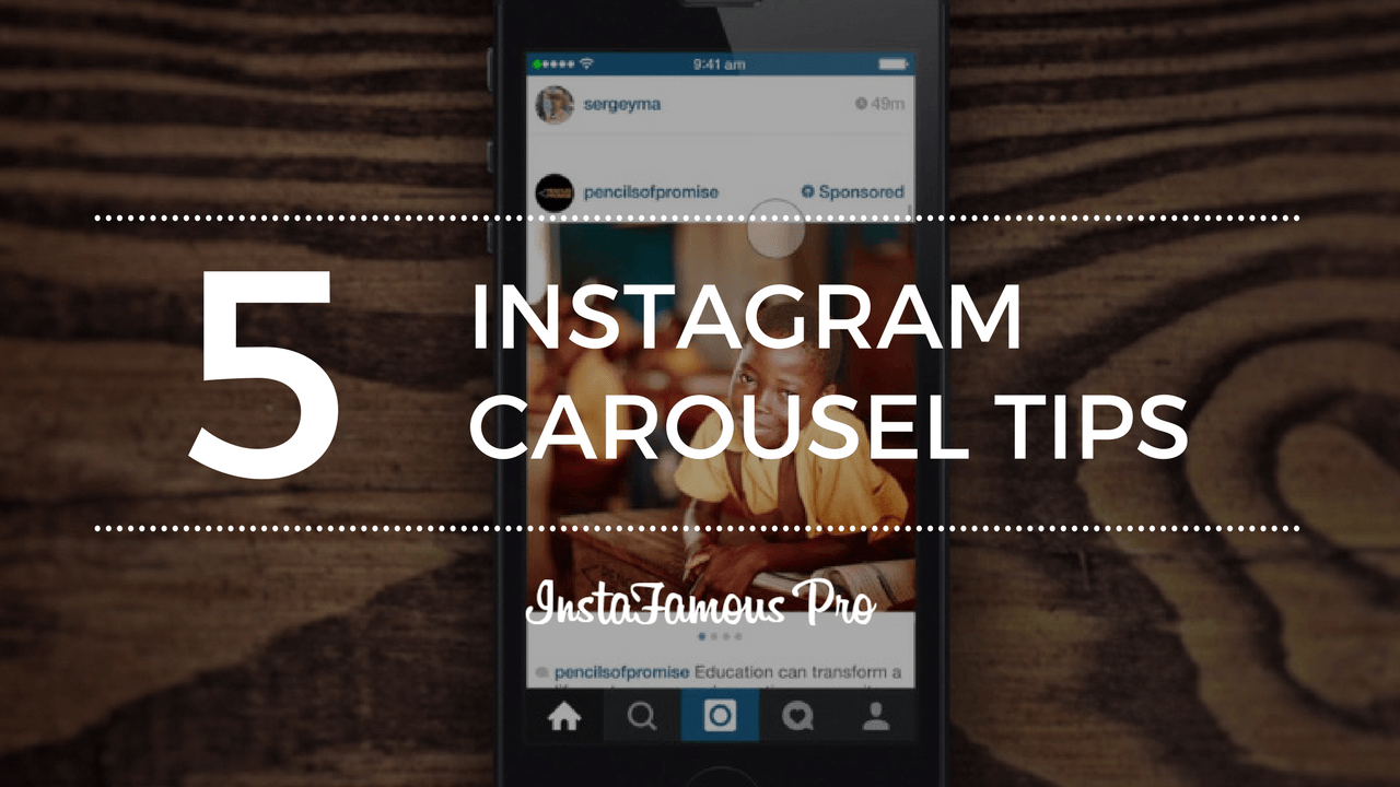 Instagram Carousel Tips