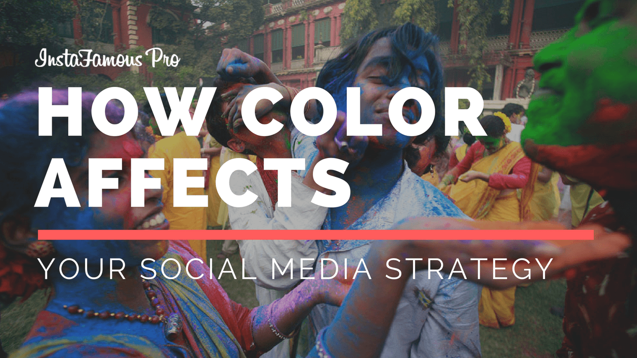 Color in Social Media