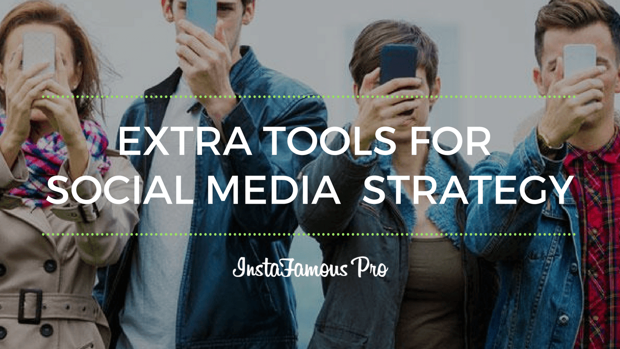 Extra tools for social media