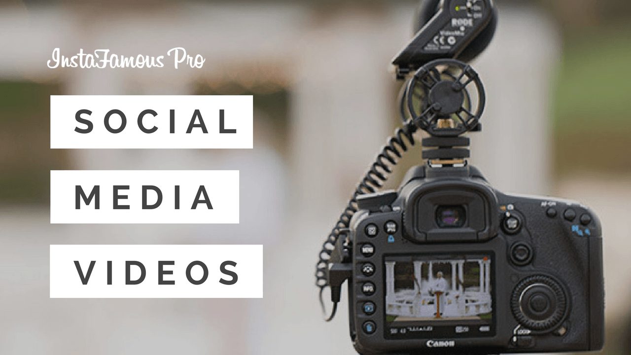 Video Making for Social Media