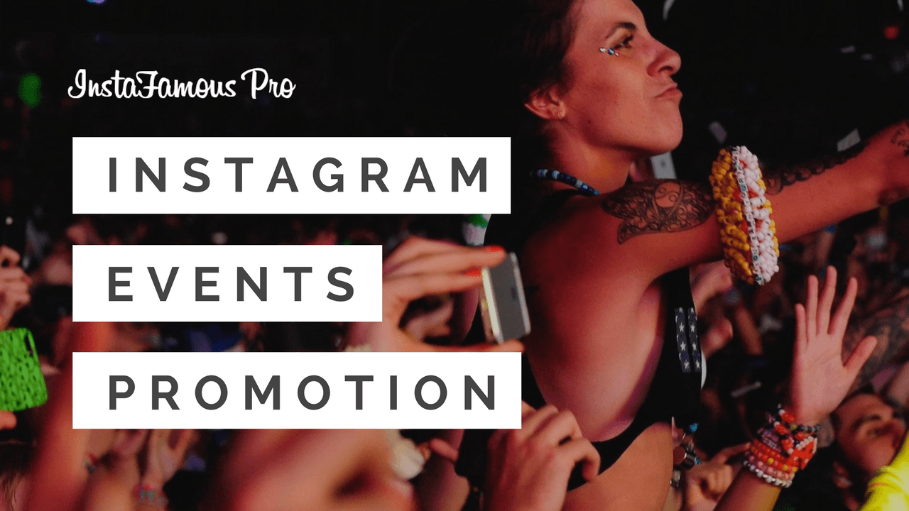 Instagram Events Promotion