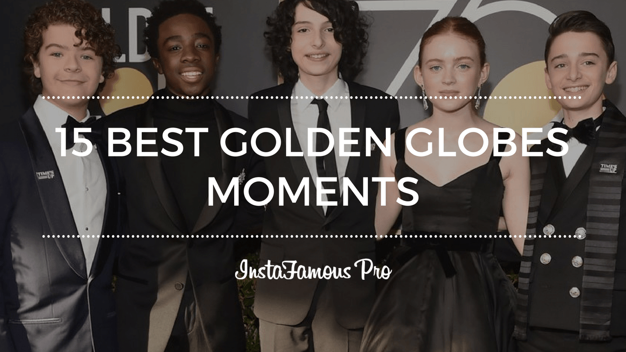 Golden Globes Moments