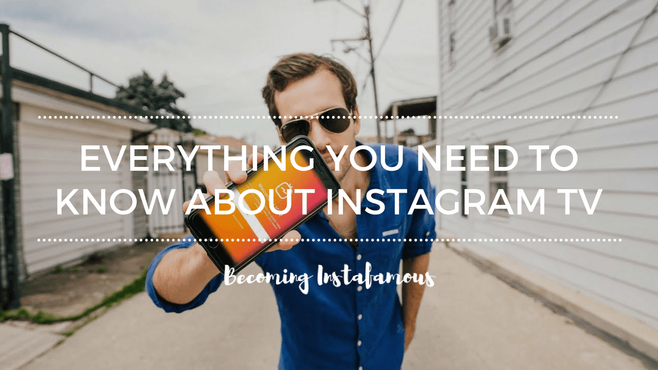 how to use the new instagram tv