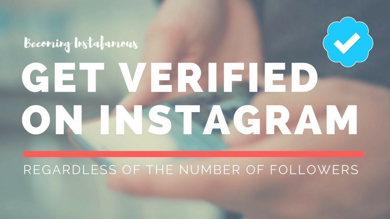 Get The Instagram Blue Tick Verification
