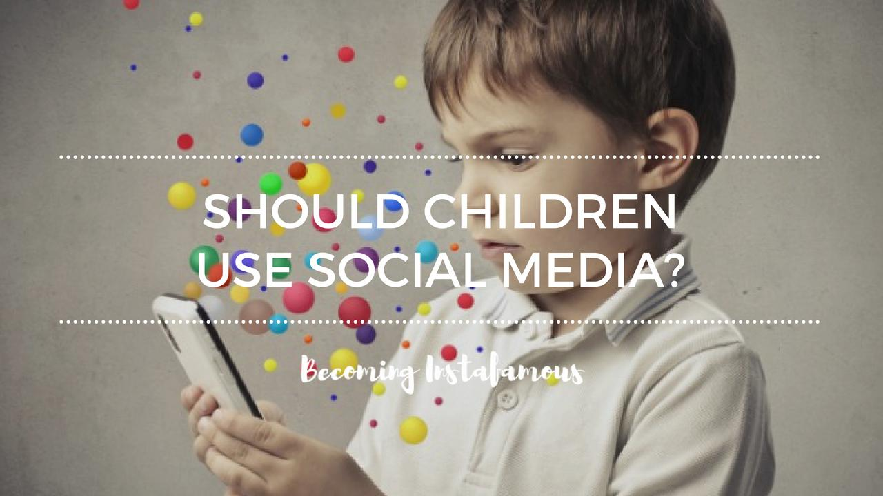 Children in social media
