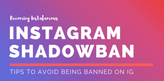 Instagram shadowban