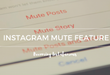 Instagram mute feature
