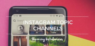 Instagram topic channels