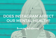 Instagram impact on our mental health