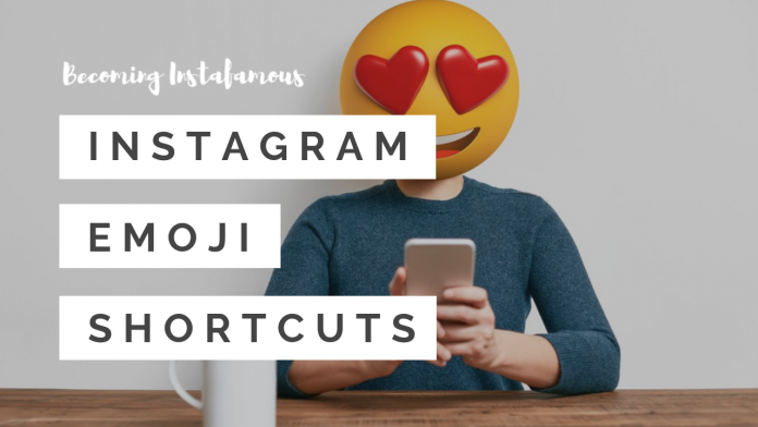 Instagram emoji shortcuts
