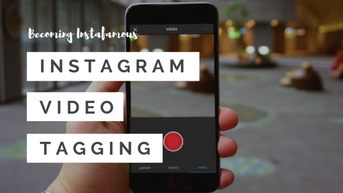 Instagram video tagging