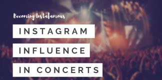 Instagram Influence In Concerts