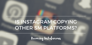 Instagram similarities to other social media apps