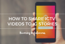IGTV videos To IG Stories