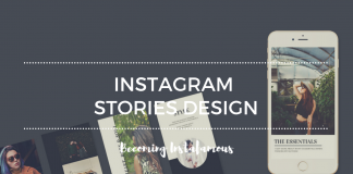 Instagram Stories Design