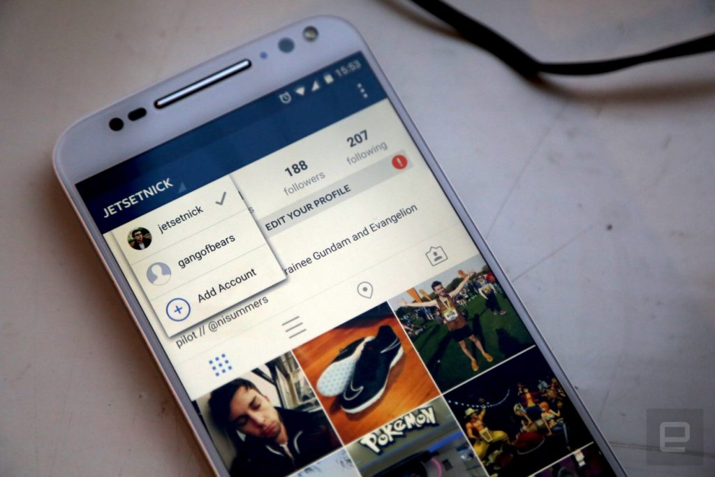 How to manage multiple Instagram account