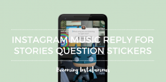 Instagram Music Reply