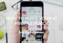 Instagram public profile