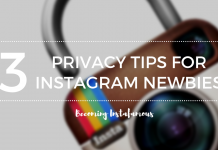 Instagram privacy tips