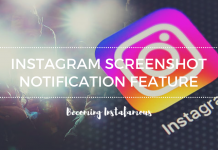 Instagram Screenshot Notification Feature