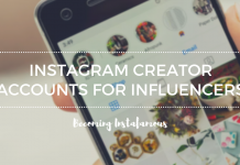Instagram creator accounts