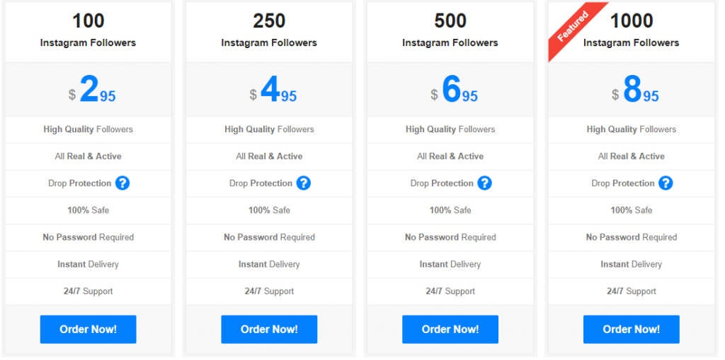 Buying Instagram followers on famoid