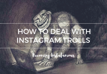 Dealing with Instagram trolls