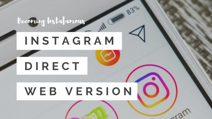 Instagram Direct Messages for Web