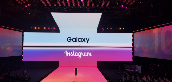 Samsung and Instagram now work together
