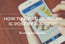 Avoid Liking Instagram Posts By Accident