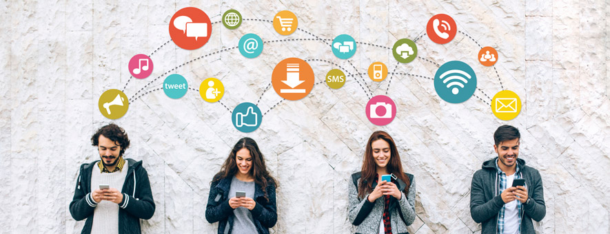 Social media benefits on a personal level