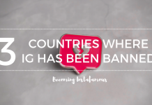 Countries that have banned Instagram