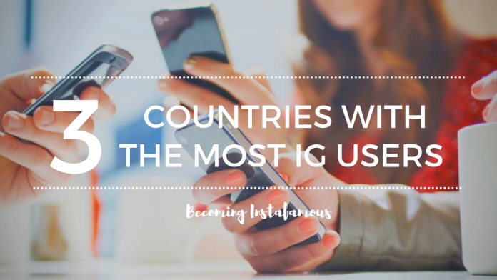 Top 3 Countries With The Most Instagram Users 2019 - Becoming