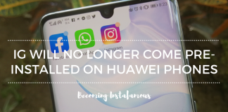 No more Instagram on Huawei
