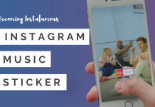 How To Use The Instagram Music Sticker