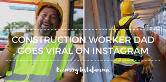 Construction worker becomes famous on Instagram