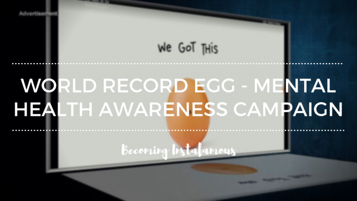 World record egg campaign